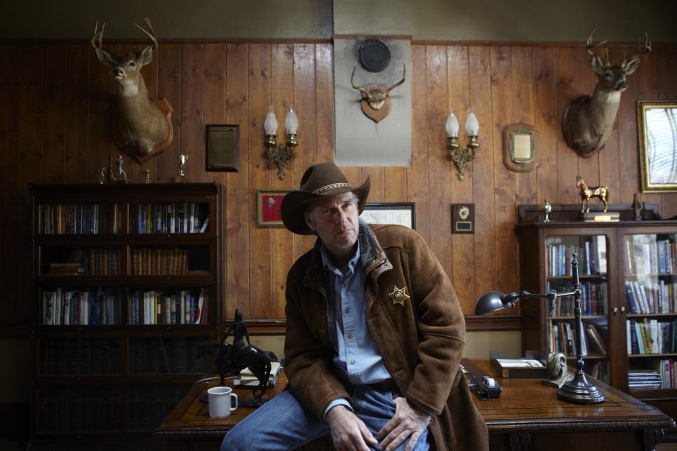 Robert Taylor stars in LONGMIRE. ©Netflix. CR / Netflix.