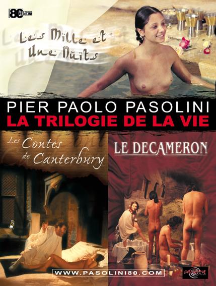 Triologie de la vie_Pasolini affiche cinema