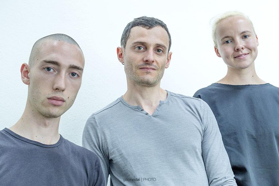 Cécile Coulon, Jean-Baptiste Del Amo, Simon Johannin – © Photographie Gilles Vidal