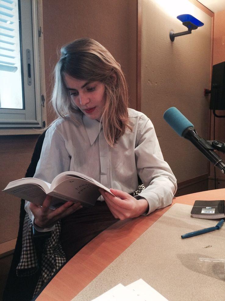 Blandine Rinkel• Crédits Christophe Ono dit Biot - Radio France