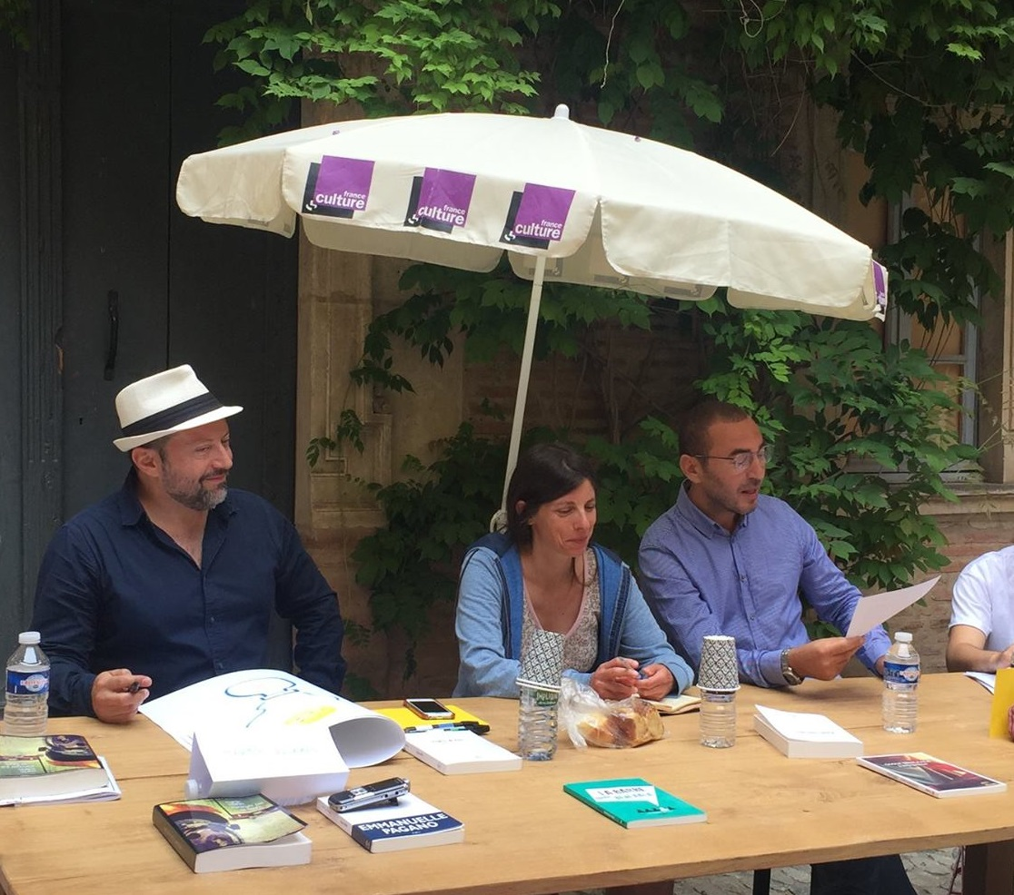 Martín Solares, Emmanuelle Pagano et Omar Benlaala à la Terrasse Musée du Vieux Toulouse